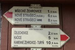 Směr Čelechovice...