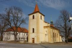 Kostel sv. Václava ve Stochově...